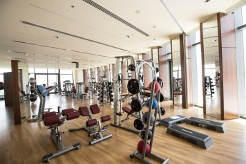 Burj Vista @ Downtown Dubai (gym)